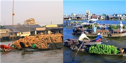Ghé thăm chợ nổi - một trong những ngôi chợ hot nhất đất Việt