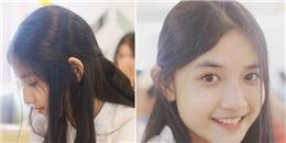 Nữ sinh 2002 sở hữu góc nghiêng thần thánh chứng tỏ một điều: Con gái Huế xinh quá!