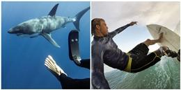 Đây là cách người thanh niên đối xử với loài cá mập sau khi bị chính chúng... cắn đứt chân