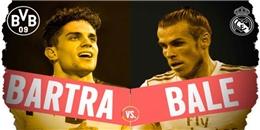 Bale vs Bartra: Bại binh phục hận