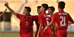Chơi với 10 người, U16 Việt Nam vẫn thắng đậm Campuchia