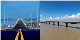 Toàn cảnh cầu vượt biển dài nhất Việt Nam