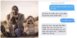 """Cười ra nước mắt với tin nhắn của ông bố """"lầy"""" và cô con gái """"nhây"""""""