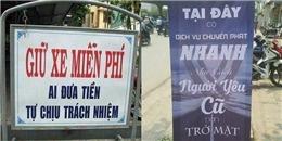 Chiêm ngưỡng những tấm bảng quảng cáo 'lầy lội' độc nhất vô nhị tại Việt Nam