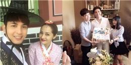 yan.vn - tin sao, ngôi sao - Vắng Bảo Anh, Hồ Quang Hiếu hạnh phúc dự sinh nhật cùng fans