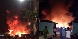Hải Phòng: Cháy cực lớn tại công ty nhựa, ngọn lửa bùng lên dữ dội