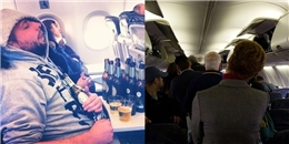 Tiếp viên hàng không cũng phát ốm với những hành khách kiểu này