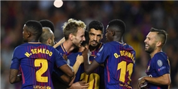 ĐIỂM NHẤN Barcelona 3-0 Juventus: Messi rực sáng, Barca công thủ đều hay