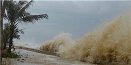 Lũ các sông lên nhanh sau bão số 10, nguy cơ xảy ra lũ quét
