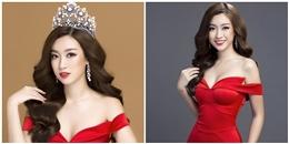 Đỗ Mỹ Linh tung ảnh đẹp lung linh sau khi vươn lên dẫn đầu bình chọn tại Miss World