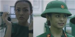 yan.vn - tin sao, ngôi sao - Mai Ngô vội vàng kẻ chân mày, la hét khi đi gác đêm tại quân ngũ
