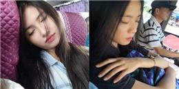 Đi xe khách về quê nghỉ lễ mà gặp toàn 'thiên thần' ngủ gật thế này thì chật chội chen chúc cũng đáng lắm!