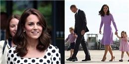 Hoàng gia Anh chính thức công bố công nương Kate mang thai em bé thứ 3