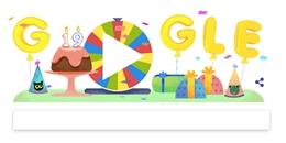 Mừng sinh nhật thứ 19, Google tung ra vòng xoay may mắn đặc biệt