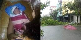 Nghệ An: Phát hiện bé sơ sinh bị bỏ rơi trong cơn bão số 10
