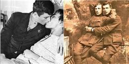 Bộ ảnh: Các cặp đôi đồng tính thể hiện tình cảm mãnh liệt, vượt qua định kiến ngày xưa