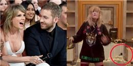 Taylor Swift ám chỉ việc từng từ chối làm vợ Calvin Harris trong MV mới?