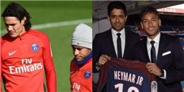 Mâu thuẫn Neymar - Cavani: Khi tiền không phải là yếu tố quyết định