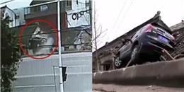 Đậu xe trên nóc nhà, 'tay lái lụa' khiến cư dân mạng bái phục vì khả năng lái xe ảo diệu