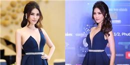 Bị đau mắt nhưng Lan Khuê vẫn đẹp xuất sắc tại vòng Bán kết Hoa hậu Đại dương 2017