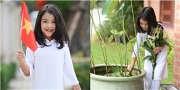 'Thiên thần' 5 tuổi gây 'sốt' trong ngày Quốc khánh