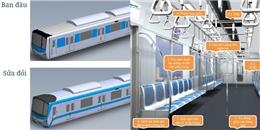 Đoàn tàu metro số 1 Bến Thành - Suối Tiên sẽ có diện mạo mới khi về Việt Nam