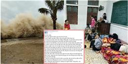 Thắt lòng chia sẻ của những người con xa quê hướng về miền Trung trong cơn bão dữ