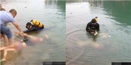 Hai cô gái uống rượu, cởi đồ xuống đùa giỡn dưới nước rồi chết thương tâm