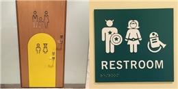 Cười nghiêng ngả với những biển chỉ dẫn nhà vệ sinh công cộng