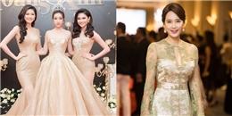 Top 3 Hoa hậu Việt Nam khoe vẻ đẹp ngọt ngào bên cựu Hoa hậu Hàn Quốc