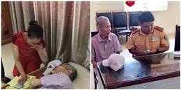 Hà Nội: CSGT giúp đỡ cụ ông đi lạc gần 50km và ngất xỉu trên đường cao tốc