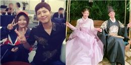 Kỷ niệm 1 năm phim phát sóng, Park Bo Gum 'lén lút hẹn hò' Kim Yoo Jung
