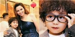 Diễm Hương khoe con trai 2 tuổi đáng yêu, kháu khỉnh không ngờ