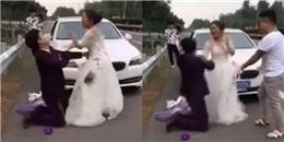 Thách cưới bằng tiền giả, cô dâu nổi giận đùng đùng, xuống xe giữa đường bỏ về nhà bố mẹ