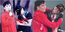 """yan.vn - tin sao, ngôi sao - Bất ngờ xuất hiện trên sân khấu, Seungri khiến G-Dragon cười """"tươi không cần tưới"""""""