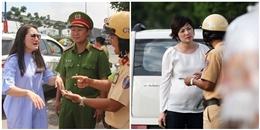 Ngoài Ngọc Lan còn những sao Việt nào bị CSGT