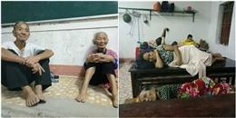 Nghẹn ngào hình ảnh bà con Hà Tĩnh nửa đêm sơ tán đến trường học để tránh bão