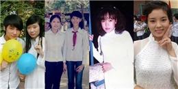 Loạt ảnh 'ngố tàu' thuở đi học khó quên của sao Việt