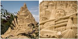 Du khách đổ xô check-in lâu đài cát 'khủng' phá vỡ kỷ lục thế giới