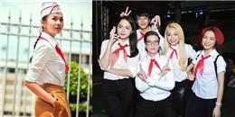 Dàn sao Việt 'cưa sừng làm nghé' cực yêu với hình ảnh học sinh quàng khăn đỏ