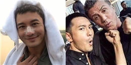yan.vn - tin sao, ngôi sao - Bị thương khi quay phim, Huỳnh Hiểu Minh vẫn bị dân mạng