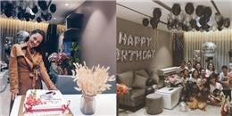 Mẹ và fan bí mật trang trí nhà, mở tiệc sinh nhật cho Bảo Anh