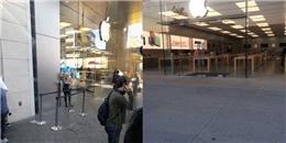 Xem lại những hình ảnh hoang vắng ế ẩm trong ngày mở bán iPhone 8 và iPhone 8 Plus trên thế giới