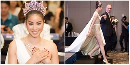 BTC Hoa hậu Hoàn vũ Việt Nam nói gì khi Phạm Hương đến trễ hơn 1 tiếng đồng hồ