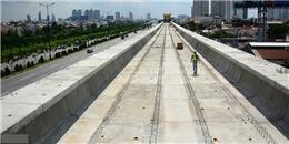 TP.HCM sắp lắp đường ray tuyến metro số 1 Bến Thành - Suối Tiên