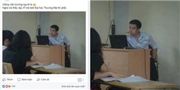 Có một thầy giáo dạy kinh tế vĩ mô đẹp trai như 'soái ca' thế này đây