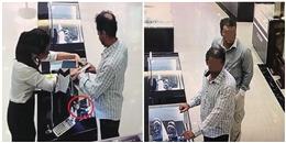 Bắt 2 nghi phạm người nước ngoài trộm đồng hồ trị giá hàng trăm triệu đồng