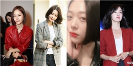 Yoona, Krystal, Sulli đồng loạt 'xuống tóc' mùa Thu, lăng-xê triệt để mốt tóc bob cổ điển