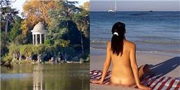 Pháp: Mở hẳn công viên dành riêng cho người thích 'trần như nhộng'