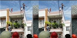 Sài Gòn: Giải cứu thành công đối tượng ngáo đá định nhảy từ lầu 3 xuống như chim bay